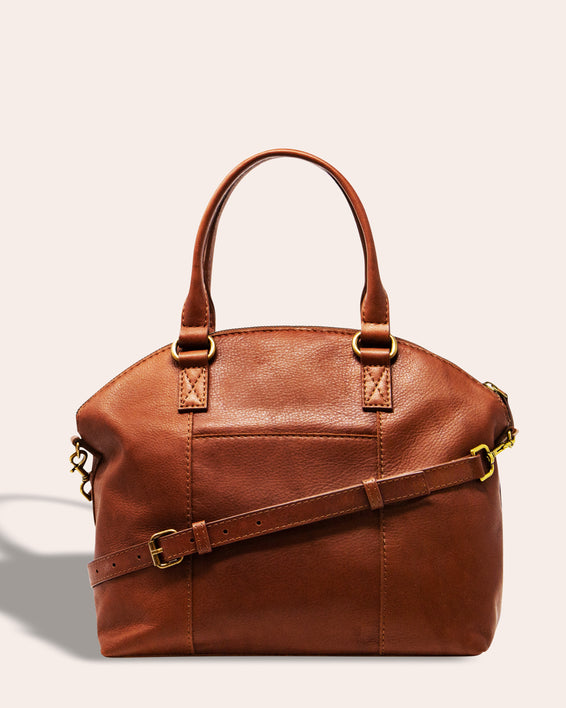 Carrie Dome Satchel - back