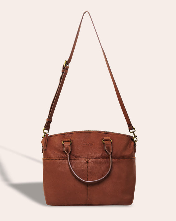 Carrie Dome Satchel - strap detail