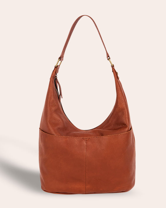 Carrie Hobo - brandy front