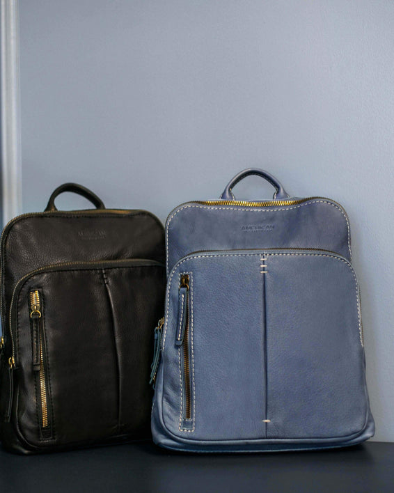Cleveland Backpack - bay blue lifestyle