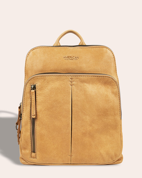 Cleveland Backpack - butter rum front