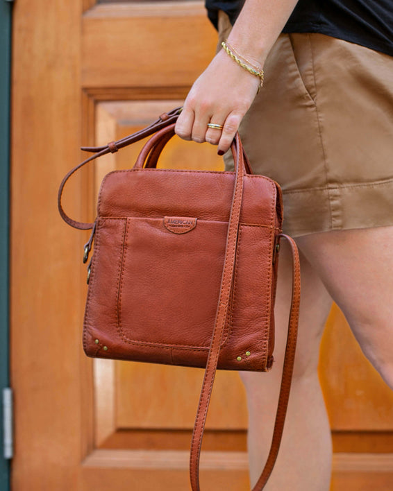 Darien Crossbody - brandy lifestyle