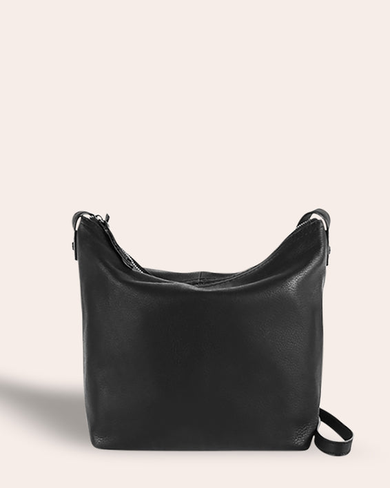 Dayton Crossbody - black front