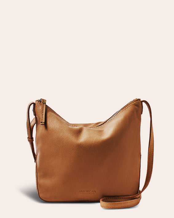 Dayton Crossbody - cafe latte front