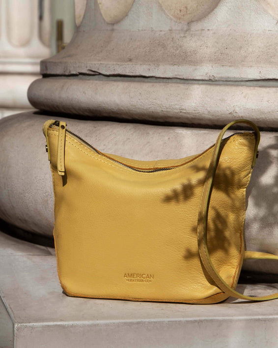Dayton Crossbody - pale yellow  lifestyle