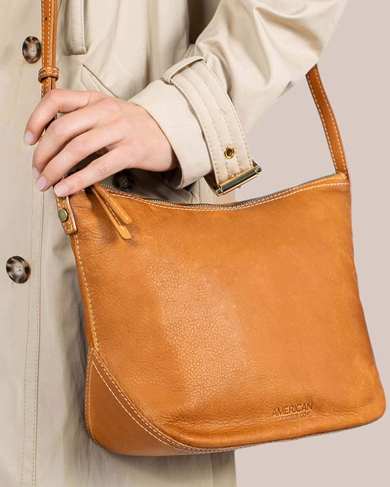 Dayton Crossbody - terracotta lifestyle