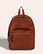 Fairfield Backpack - brandy front