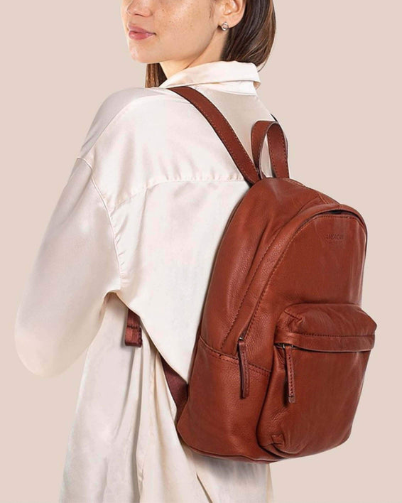 Fairfield Backpack - brandy lifestyle