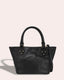 Frenchie Mini Tote - black front