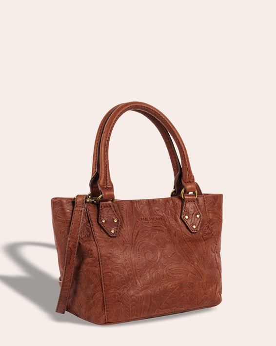 Frenchie Mini Tote - side angle