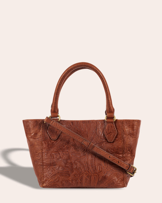 Frenchie Mini Tote - back