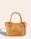 Frenchie Mini Tote - dark beige front