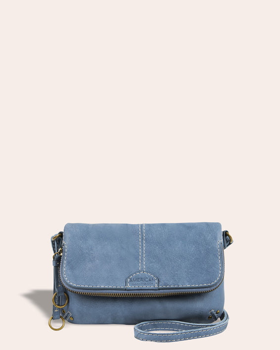 Ithaca Crossbody - bay blue front
