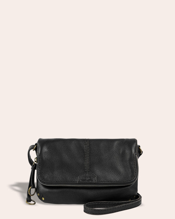 Ithaca Crossbody - black front