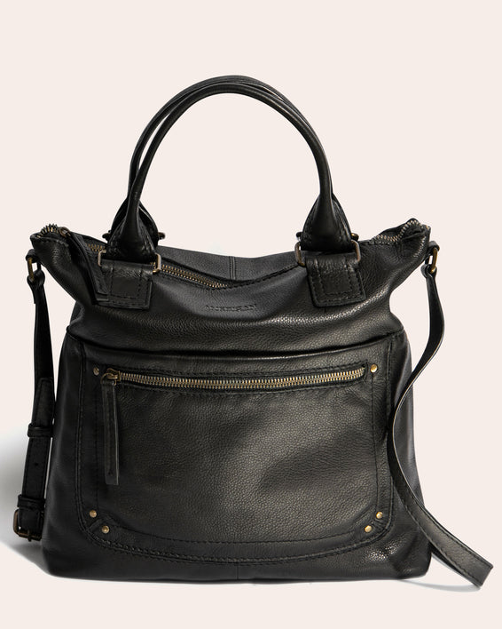 Jamestown Tote - black front