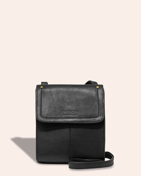 Kansas Crossbody - black front
