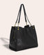 Lenox Triple Entry Satchel - side angle
