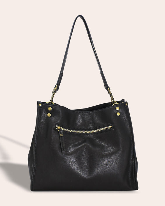 Lenox Triple Entry Satchel - back