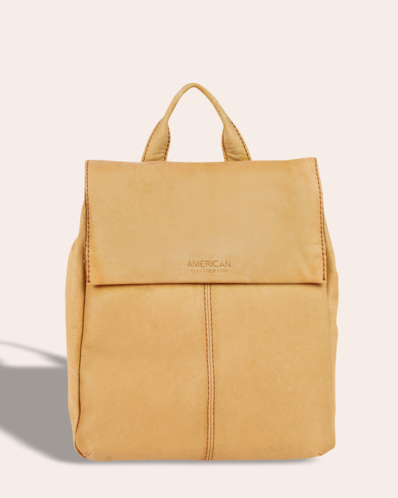 Liberty Backpack - butter rum front