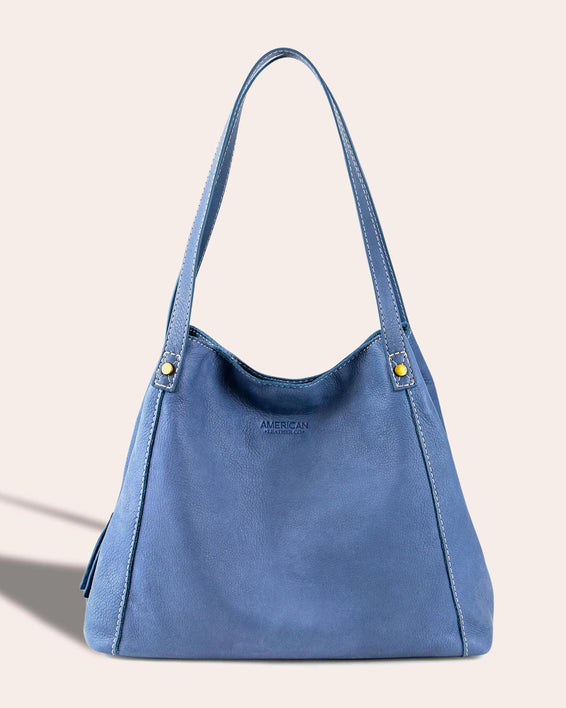 Liberty Shopper - bay blue front