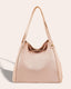 Liberty Shopper - blush front