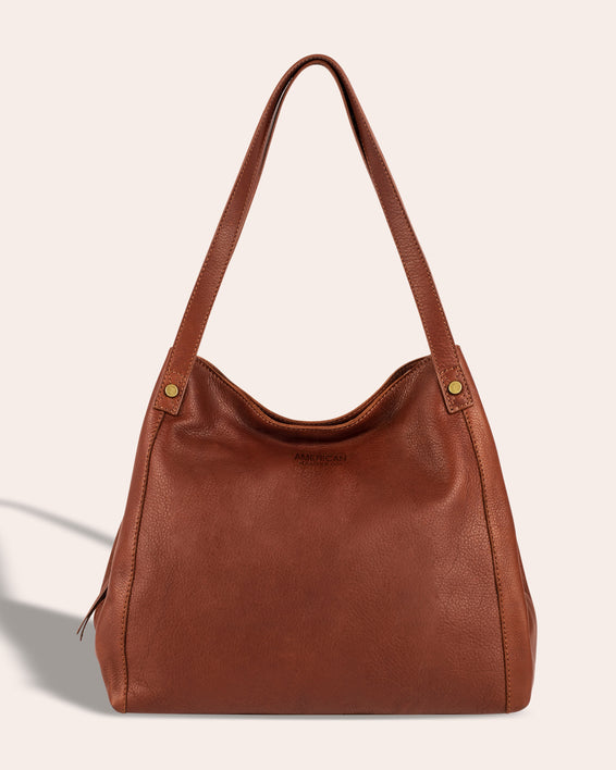 Liberty Shopper - brandy front