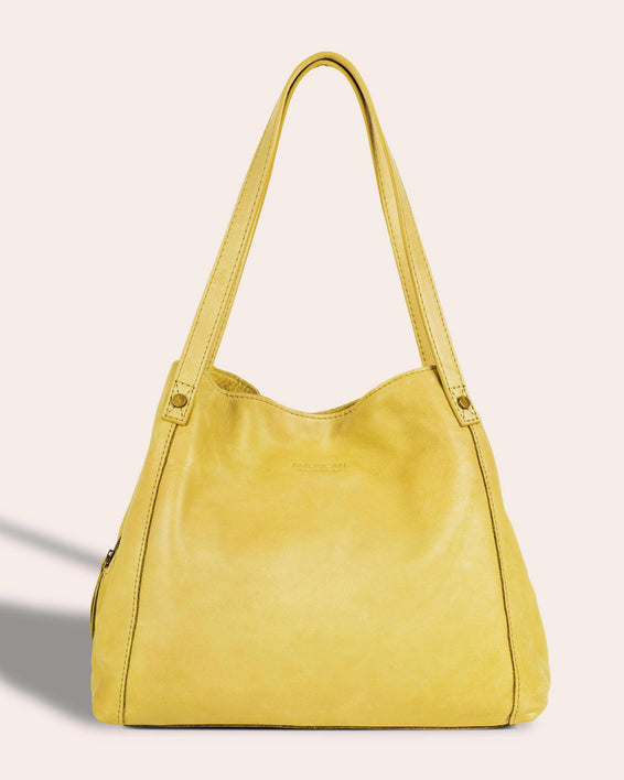 Liberty Shopper - pale yellow front