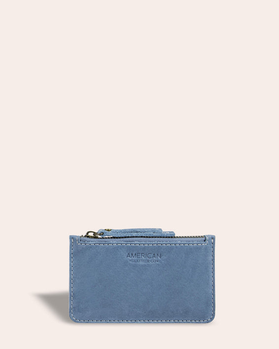Liberty Wallet - bay blue front