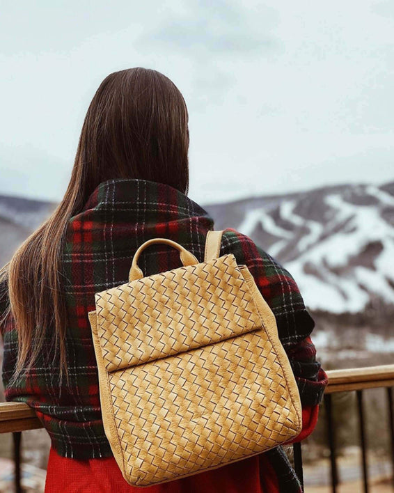 Liberty Woven Backpack - lifestyle