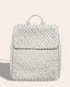 Liberty Woven Backpack - stone front