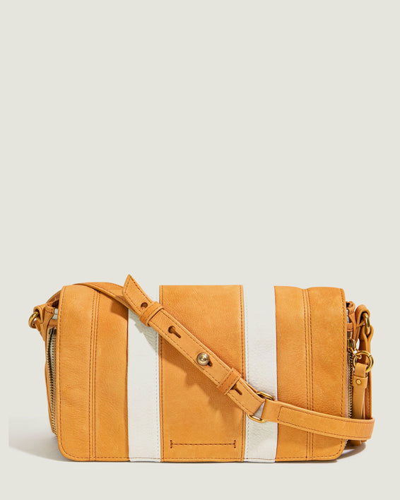 Maple Flap Crossbody - apricot front