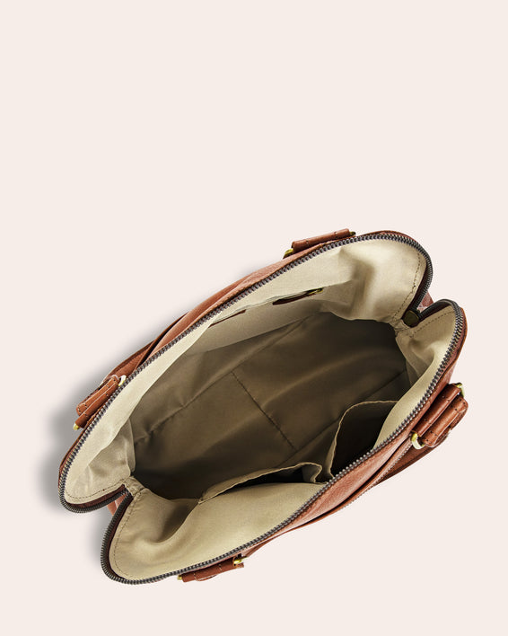 Montauk Dome Satchel - inside