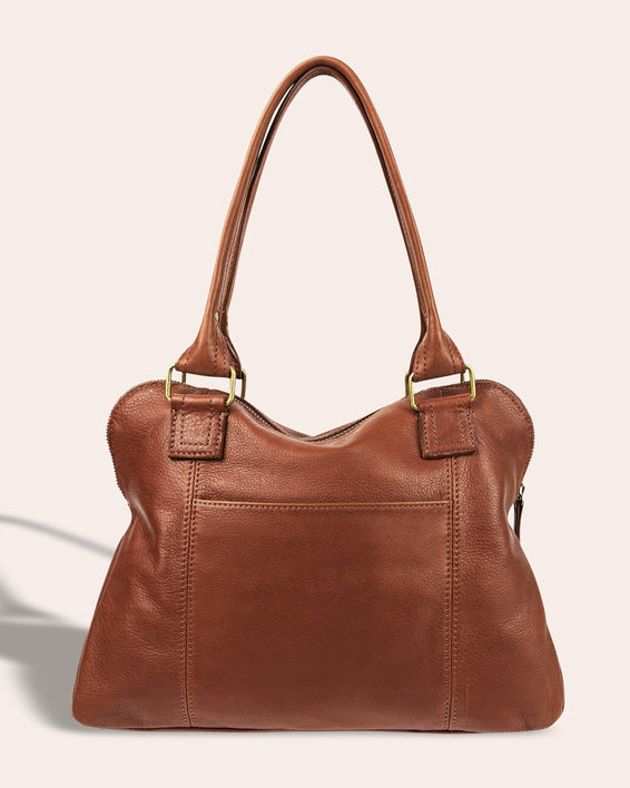 Montauk Dome Satchel - back