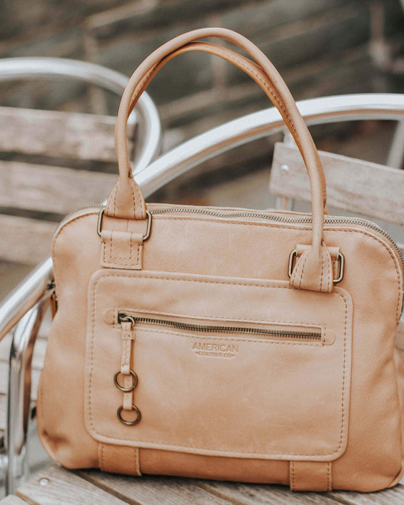 Montauk Dome Satchel - butter rum lifestyle