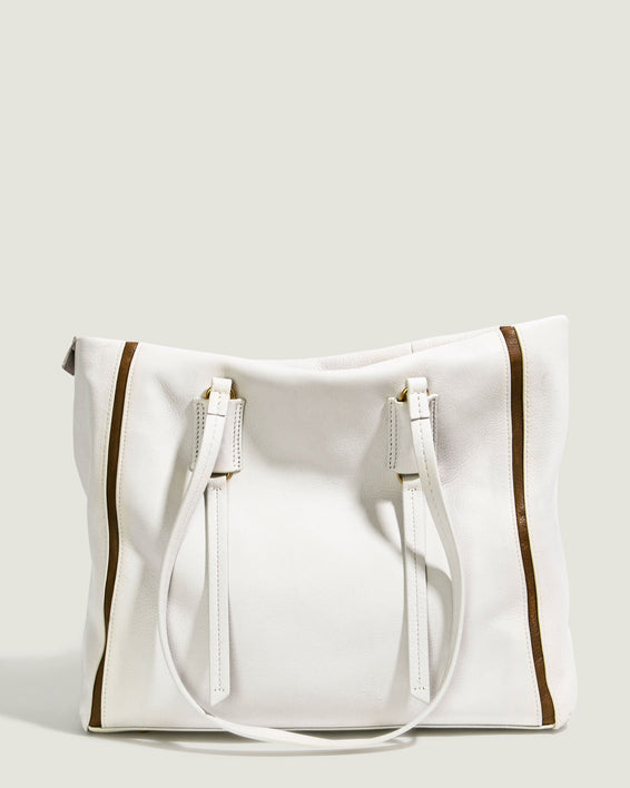 Shirley Tote - stone front