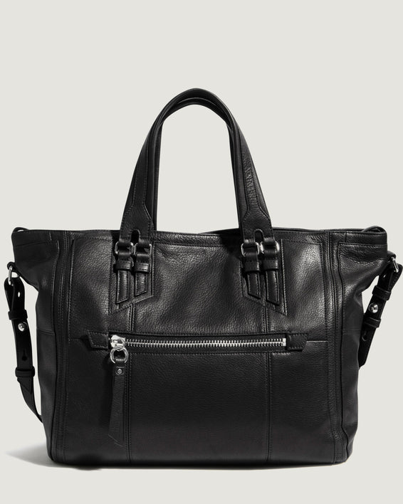 Bailey Convertible Shopper Black - front