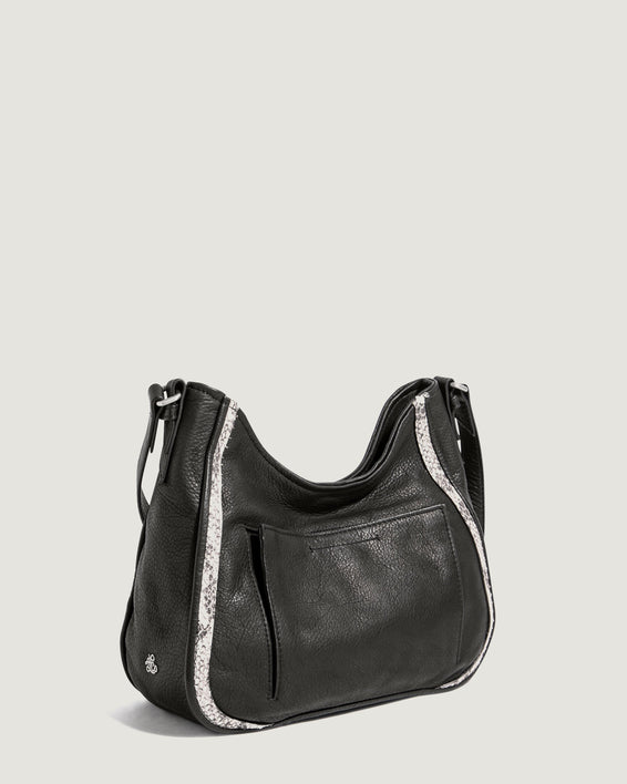 Chelsea Adjustable Crossbody Nutmeg - interior