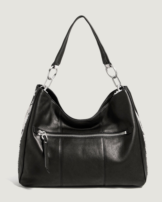Palmer Hobo Black With Snake - front