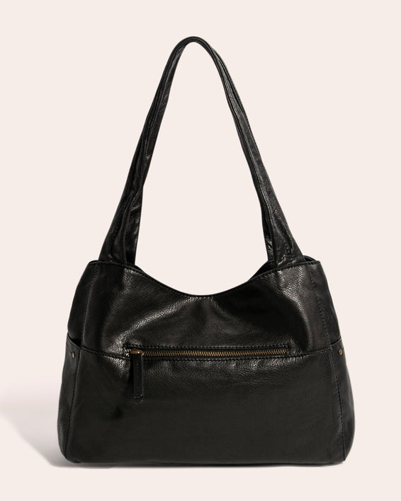 American Leather Co. Virginia Shopper Brandy - back
