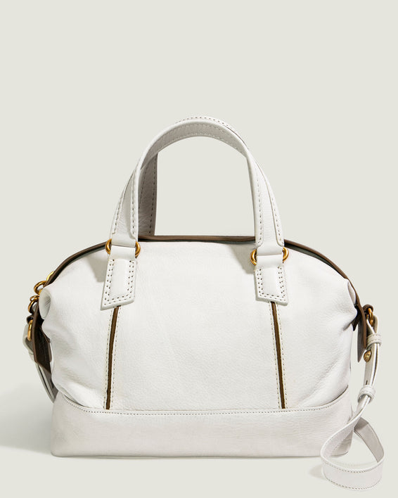 Willow Draped Satchel - apricot front