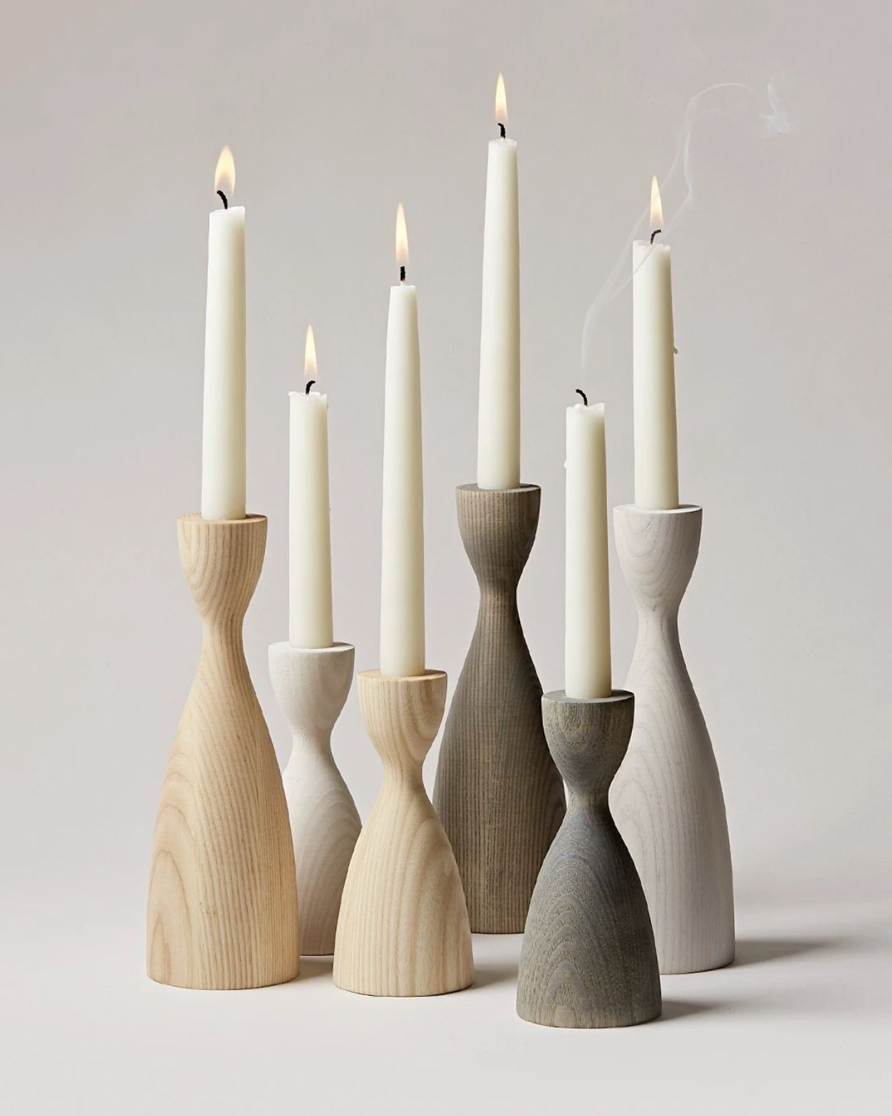 Pantry Candlestick Set Made Goods Farmhouse Pottery