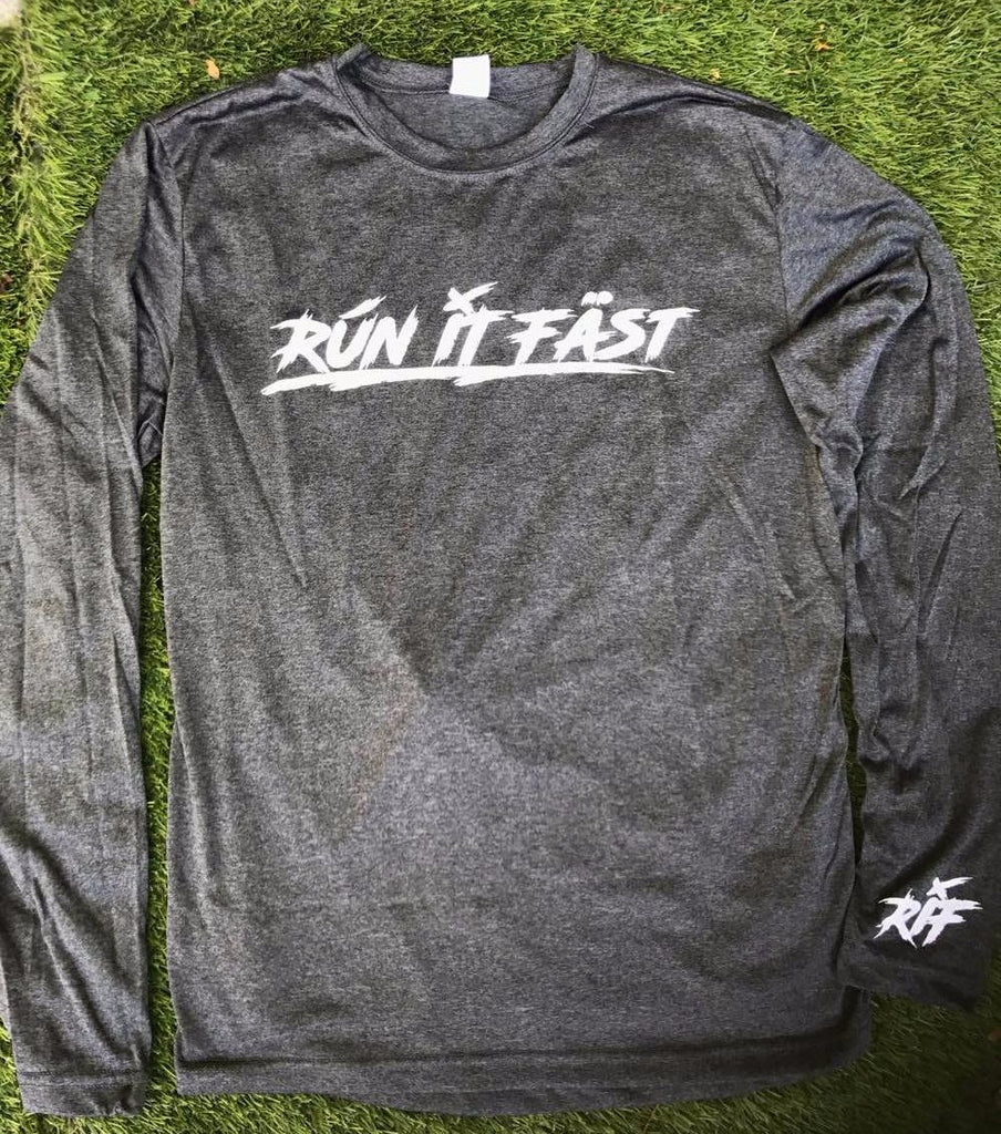Run It Fast® Men's Long Sleeve Tech Shirt