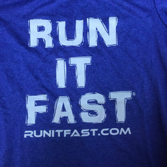 Run It Fast® Women's Cobalt Blue Tech Shirt