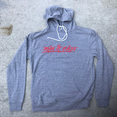 Run It Fast Graphite Gray Hoodie