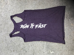 Run It Fast® Tank by Next Level (Women's Cut)