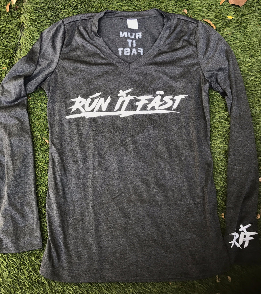 Run It Fast® Women's Long Sleeve Tech Shirt