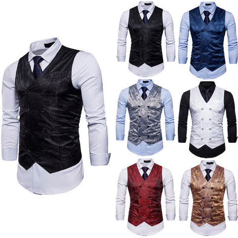 Suit Vest Men Business Vests