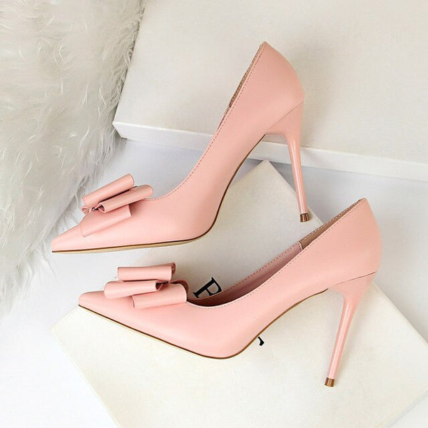 2020 Woman Fetish 10cm High Heels Scarpins Shoes Female