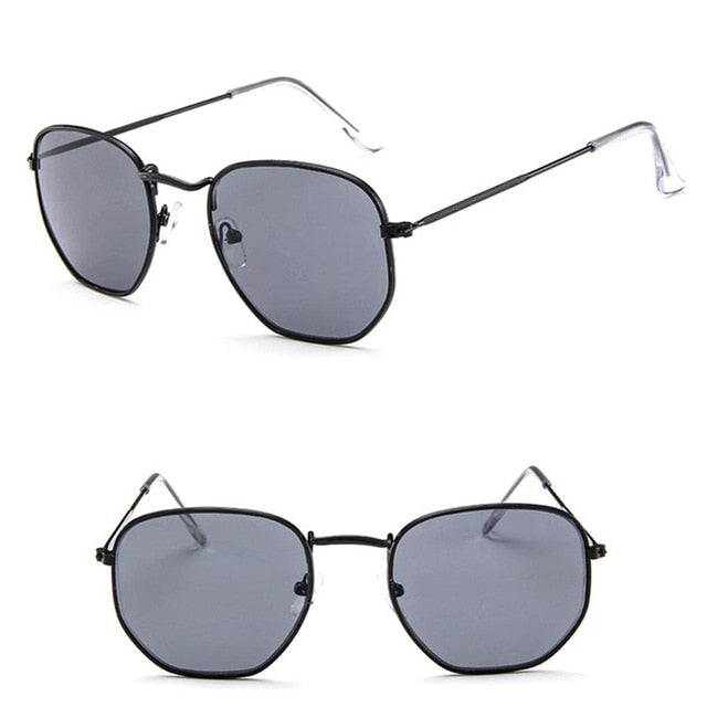 Metal Classic Vintage Women Sunglasses Luxury Brand