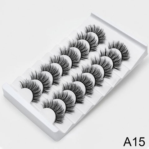 Eyelashes Dramatic Volume Fake Lashes Makeup Eyelash Extension Silk Eyelashes